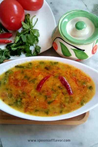 Arhar Dal Palak Recipe