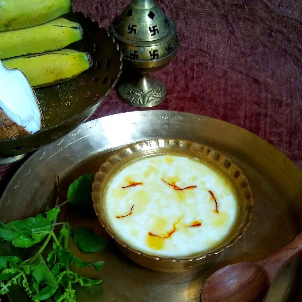Panchamrit Recipe | Panchamrita | Panchamrut - Spoons Of Flavor
