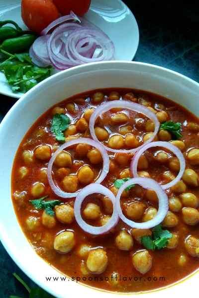 Kabuli chana curry