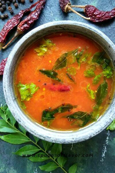 Tomato Rasam without Dal and Tamarind | Tomato Rasam