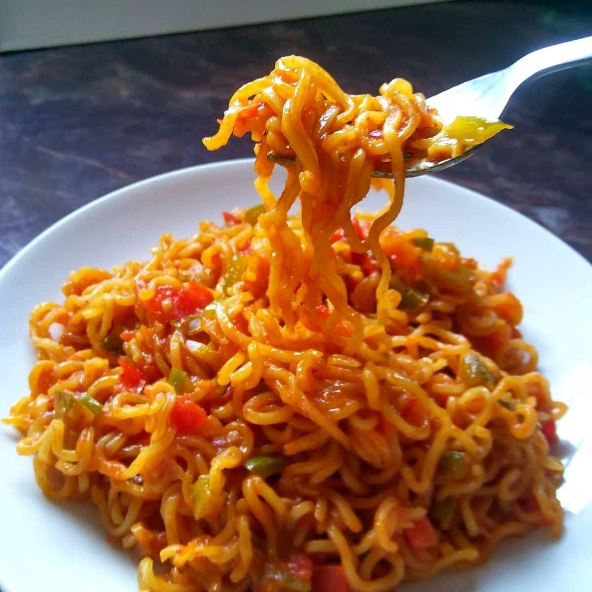 Simple Maggi Masala Noodles At Home
