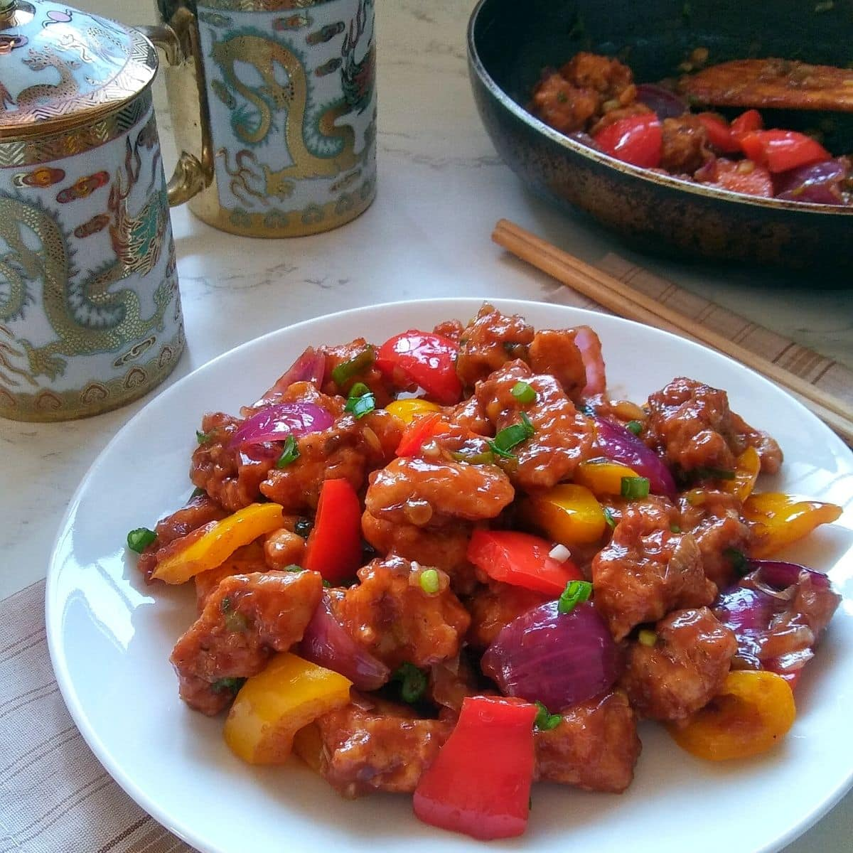 Restaurant Style Chilli Chicken At Home