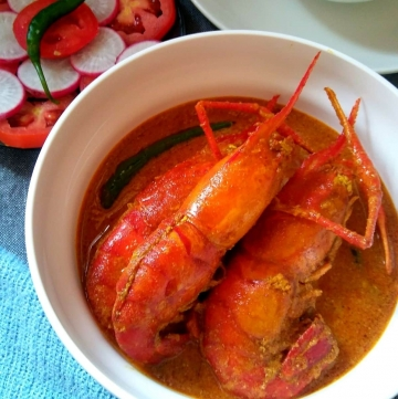 Bengali Prawn Malai Curry
