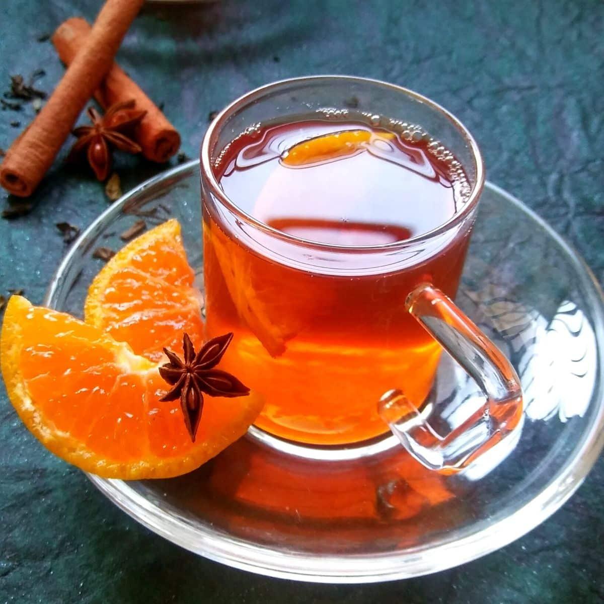 Orange Spice Black Tea Recipe
