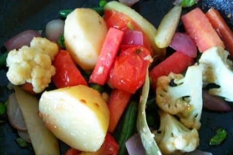 Vegetable Stew Recipe Steps