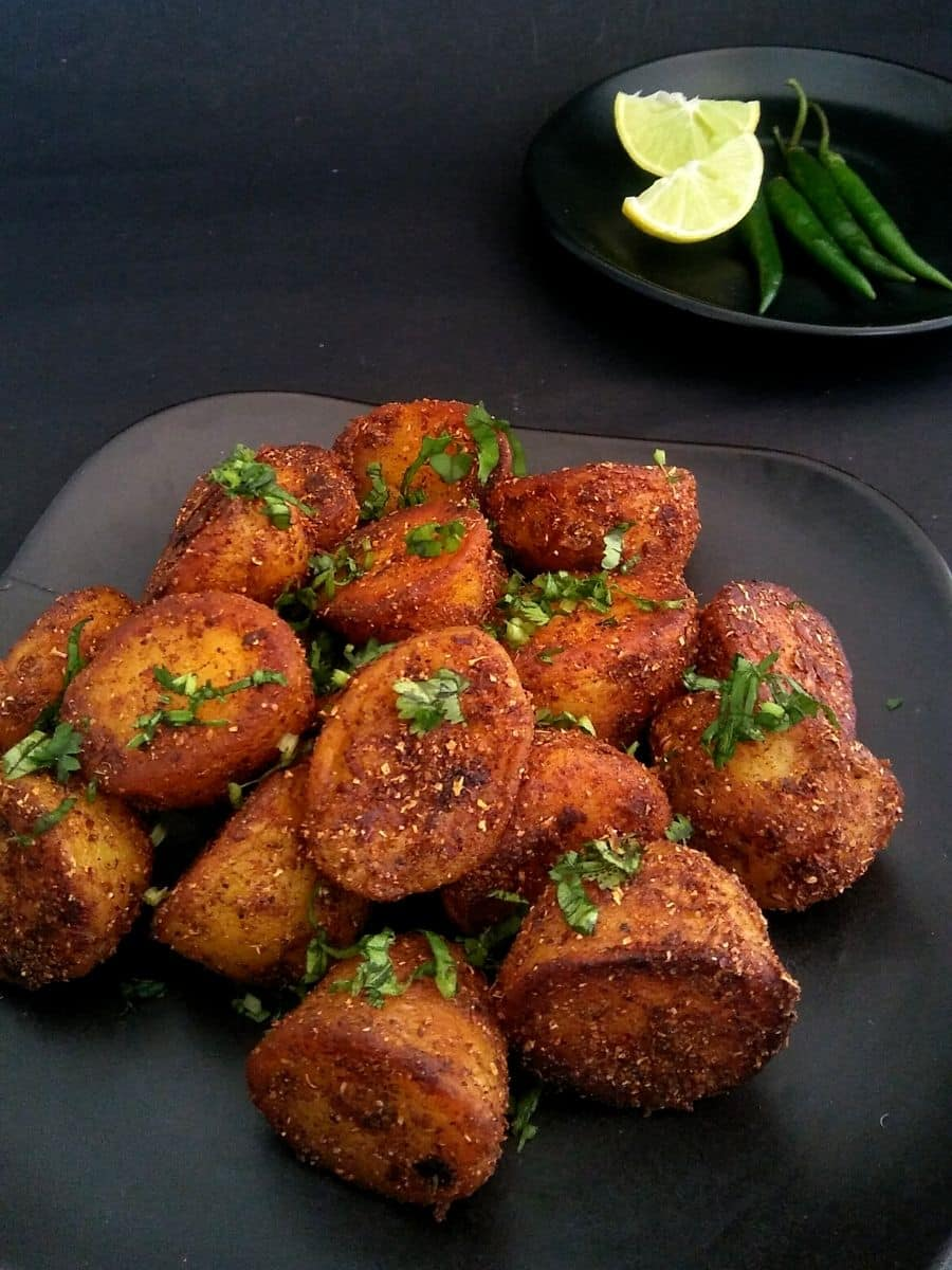 Masala Roasted Potato Recipe 1