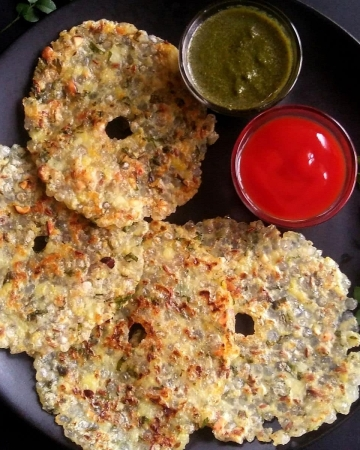 Sago Thalipeeth Recipe For Vrat