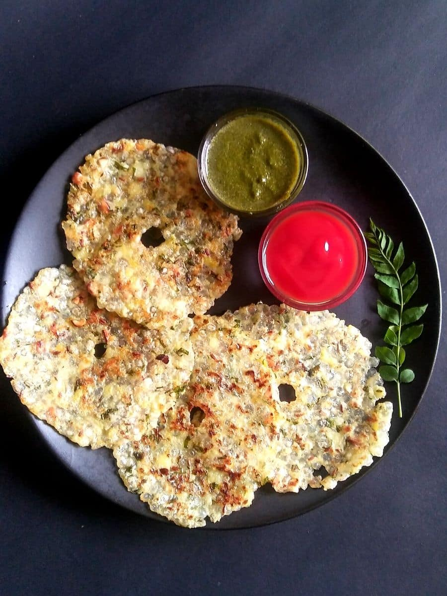 Sabudana Thalipeeth Recipe for Vrat