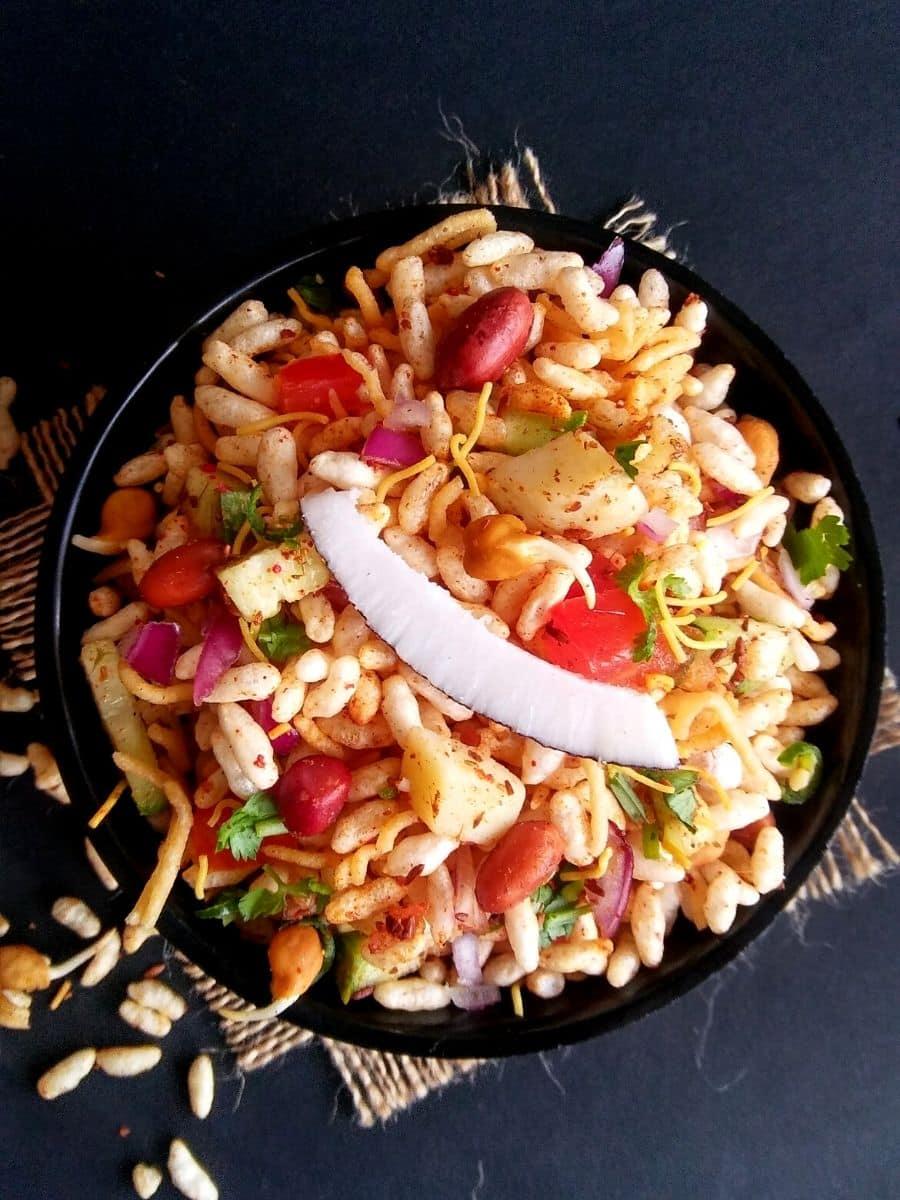 Calcutta Street Style Masala Puffed Rice Recipe