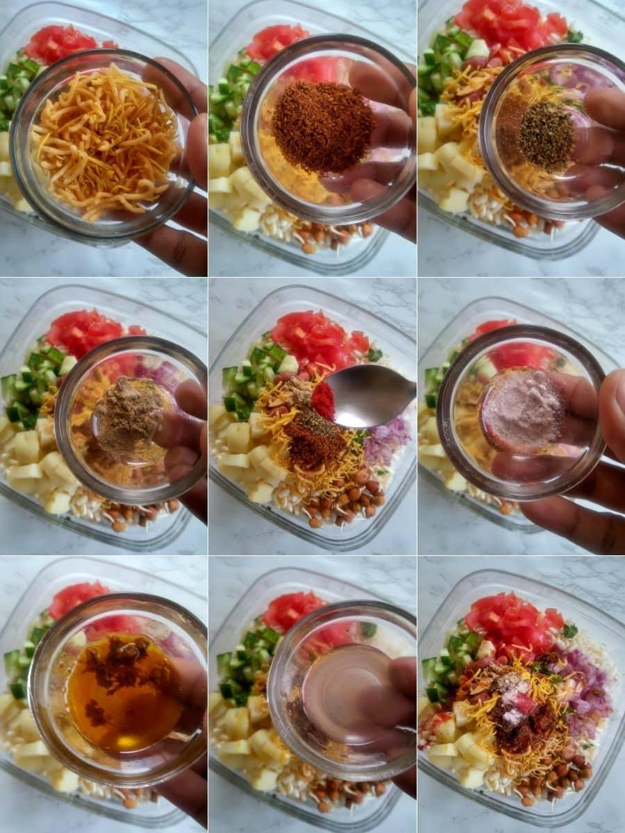 Calcutta Style Jhal Muri Recipe Steps