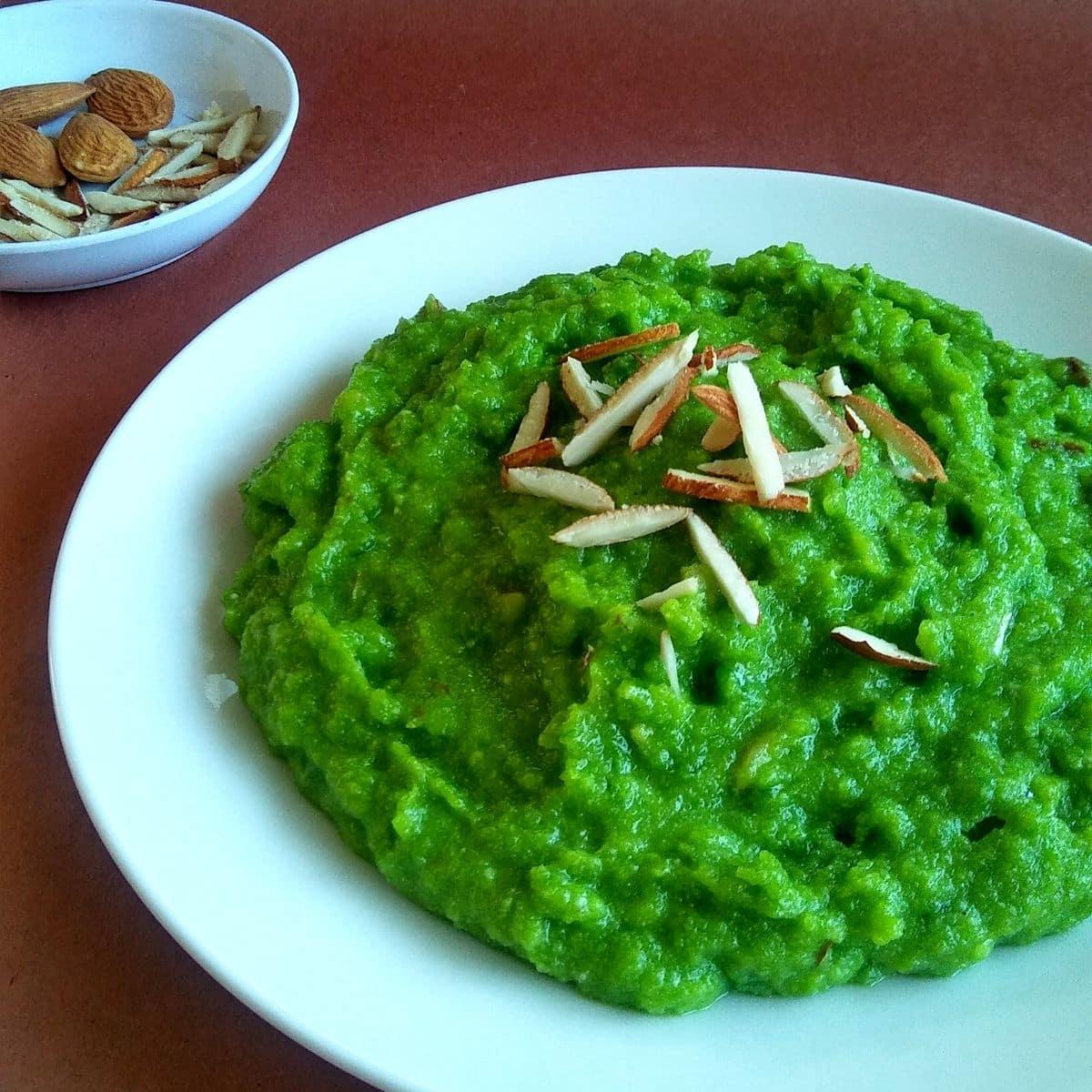 Green Peas Halwa Recipe