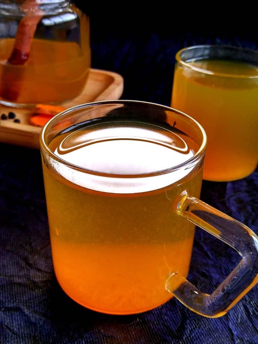 Healing Turmeric Tea Recipe