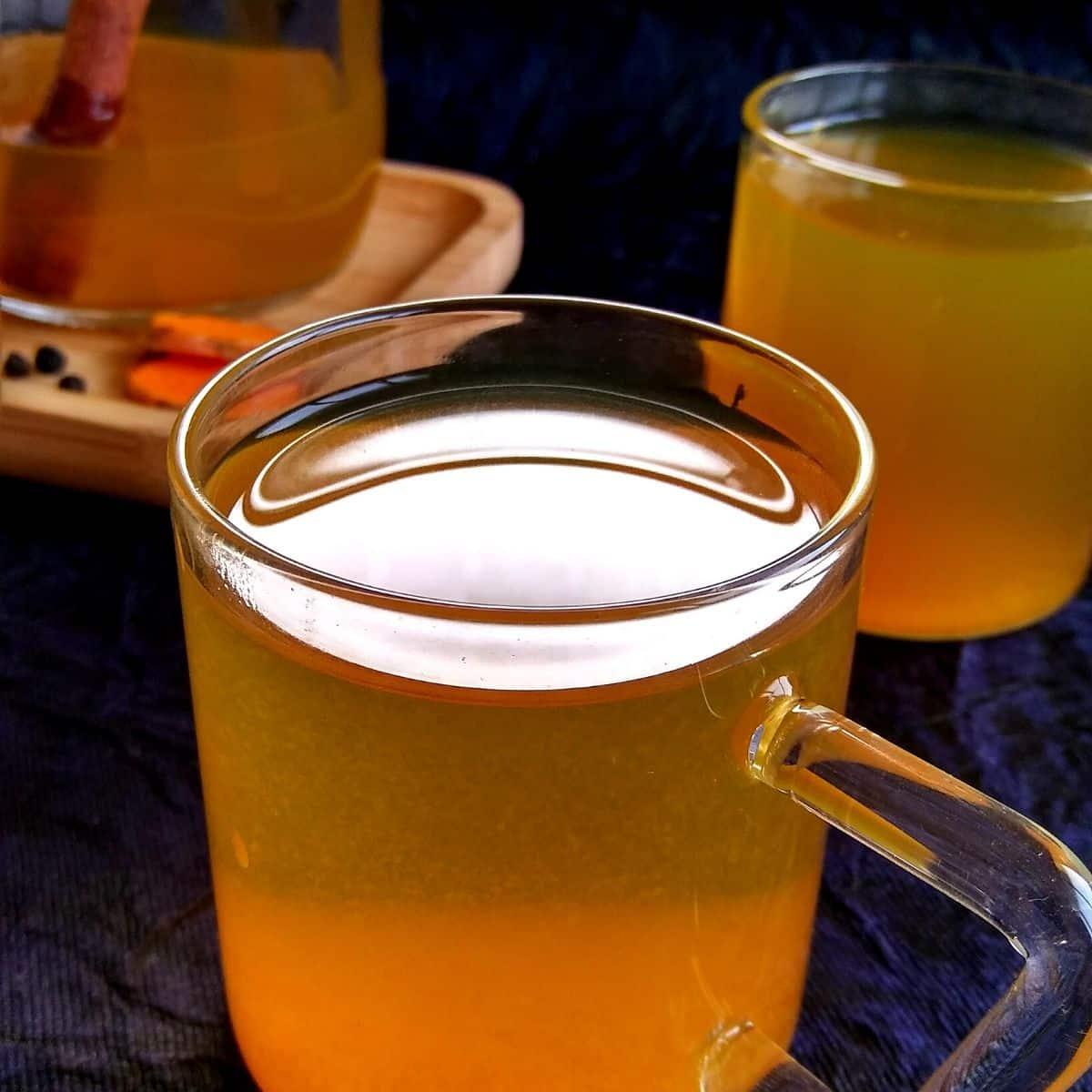 Immune Boosting Turmeric Tea Recipe