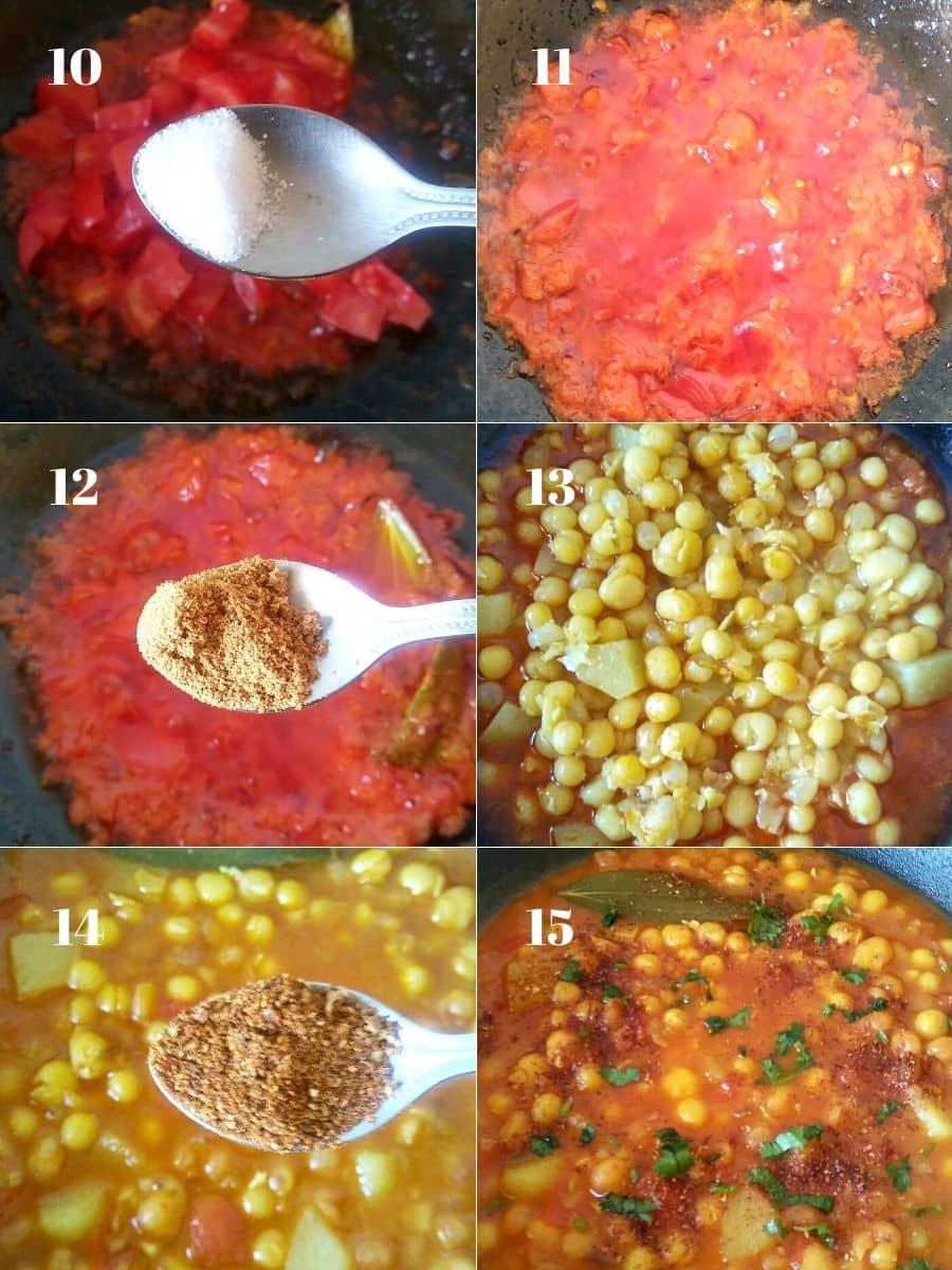 Ghugni Recipe Steps