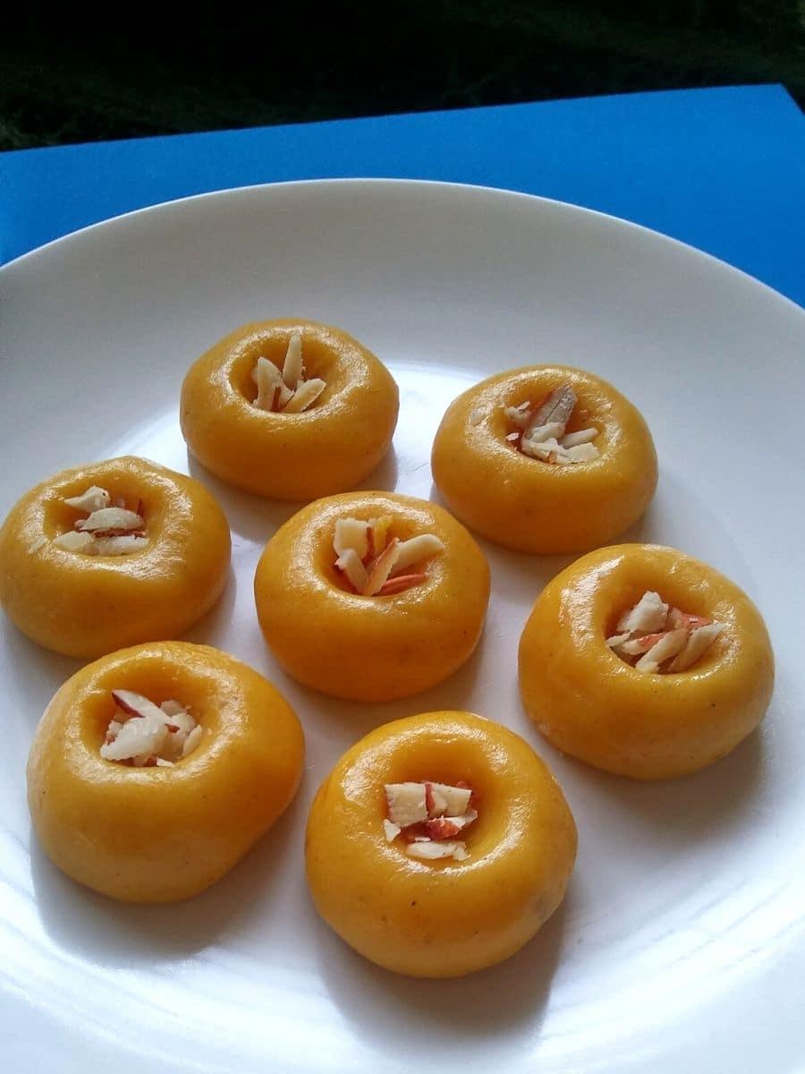 Quick Mango Peda Recipe