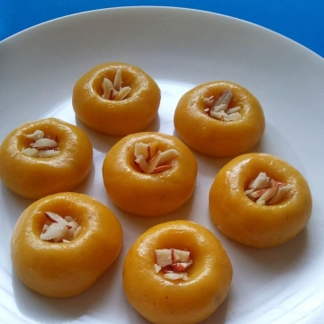 Quick Mango Peda Recipe