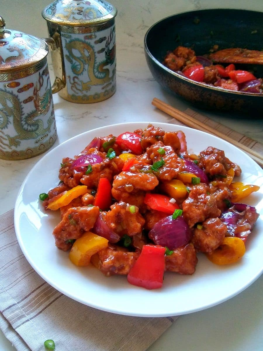 Restaurant Style Chili Chicken