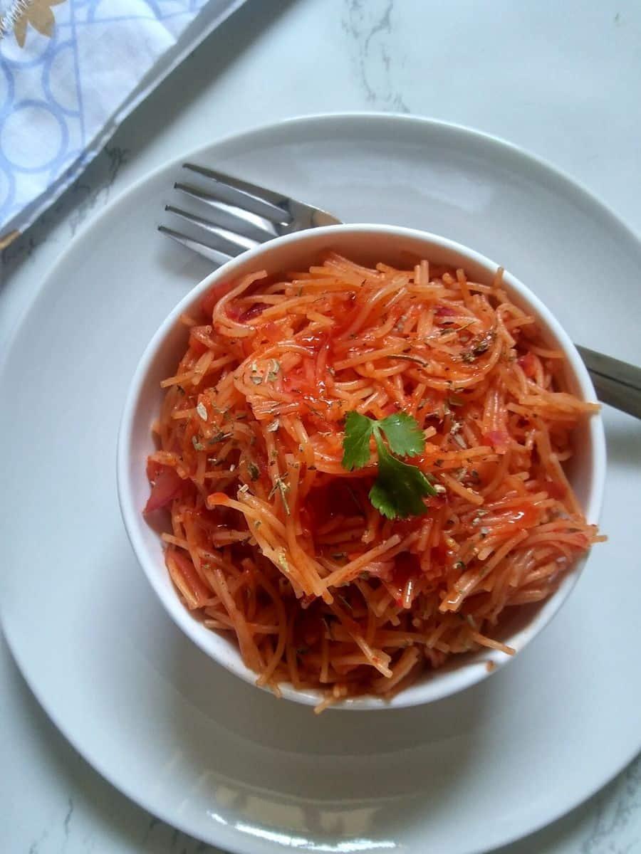Tomato Garlic Vermicelli