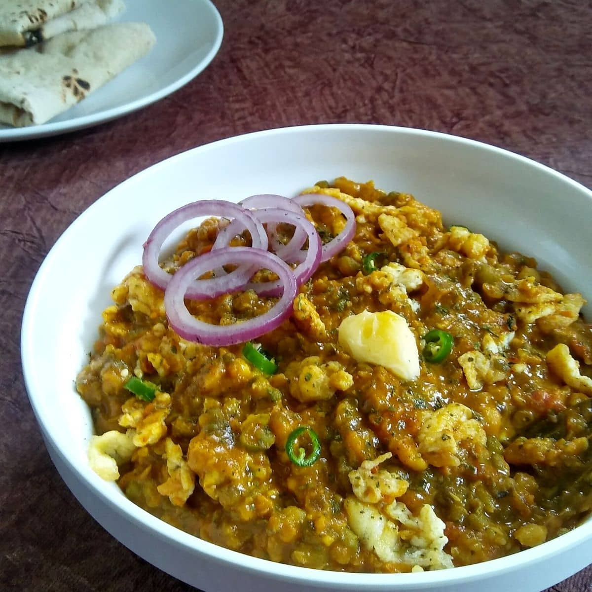 Egg Tadka