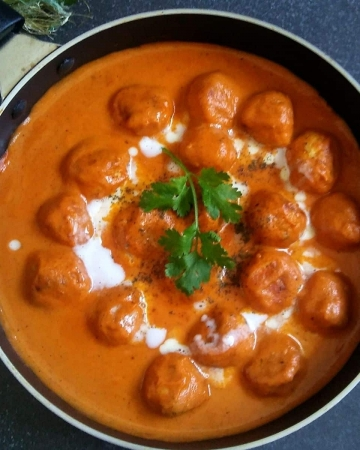 Butter Chicken Meatballs Recipe