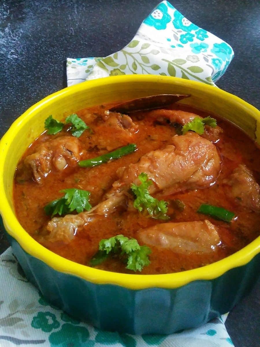 Punjabi Dhaba Style Chicken