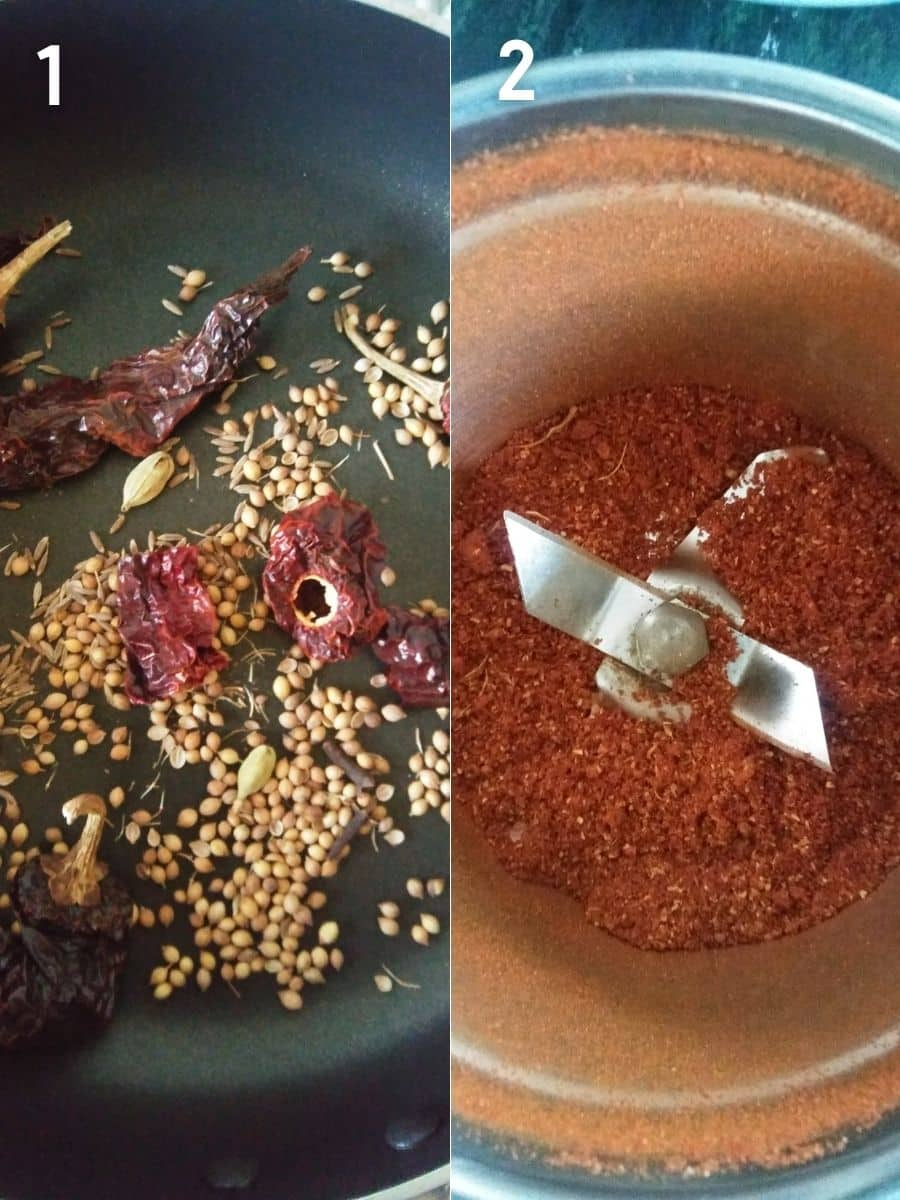 Roasted Ground Spices for Chicken Roast