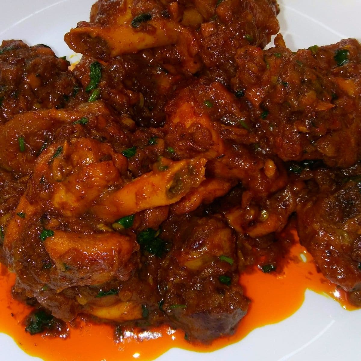 Chicken kassa recipe
