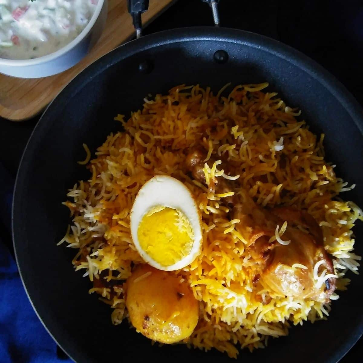 Kolkata Chicken Biryani Recipe