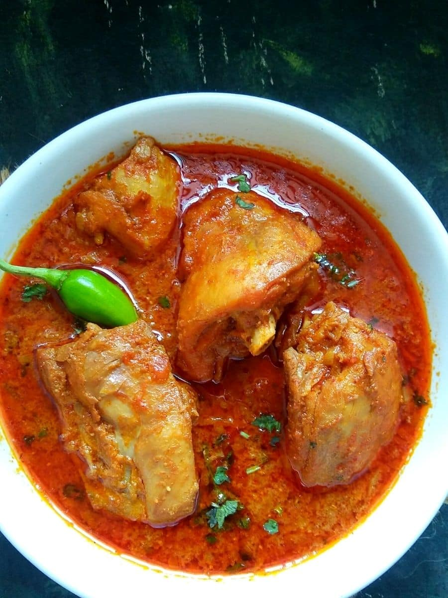 Andhra Special Chicken Curry