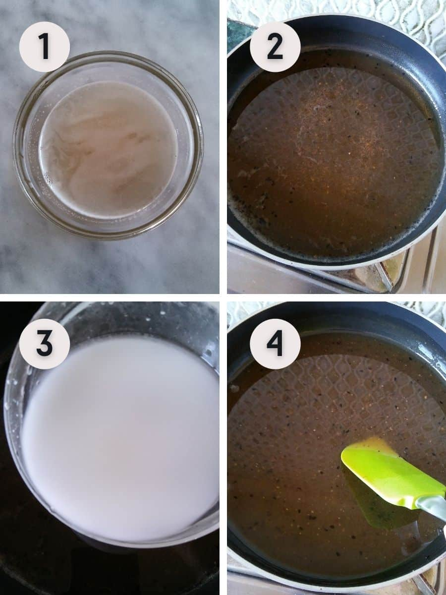 Sweet onion sauce making step by step