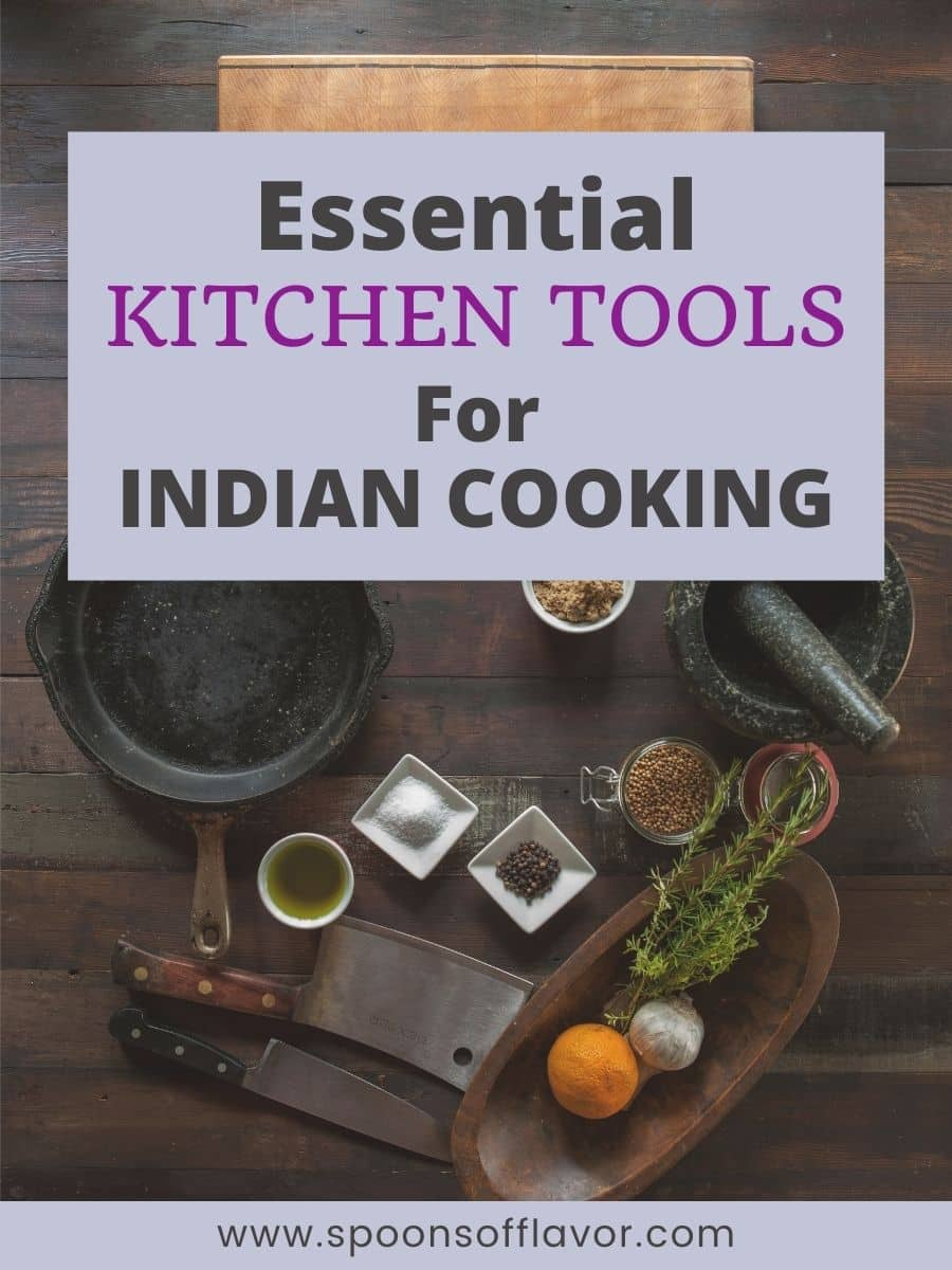 Must Have Indian Cooking Tools