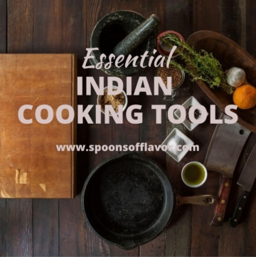 Essential Indian cooking tools